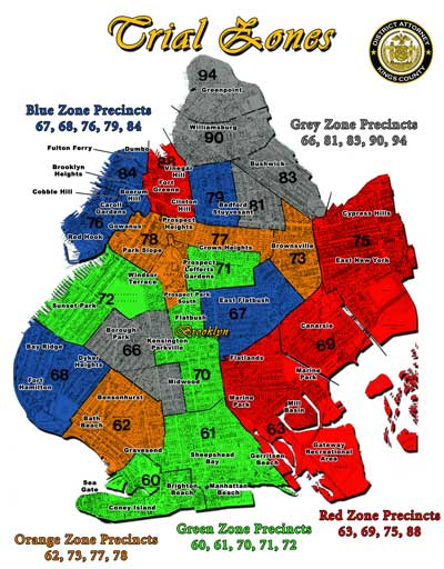 TRIAL ZONES – The Brooklyn District Attorney's Office on